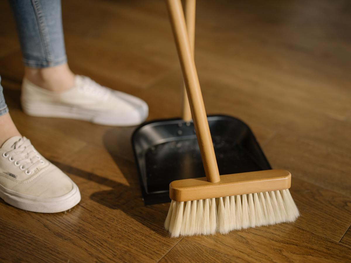 Many people who just lost a loved one don't have the energy to keep up with household chores.