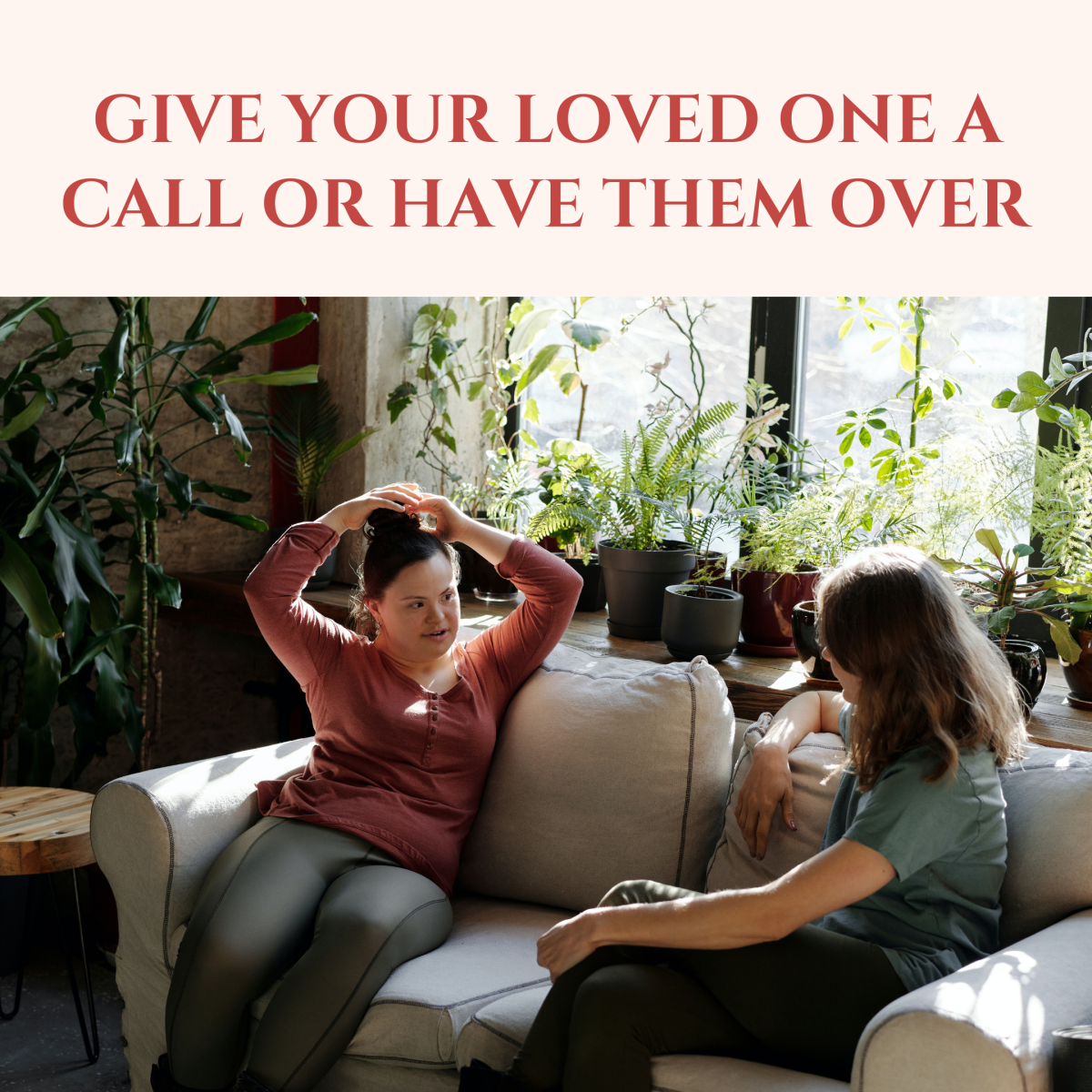 Don't put the burden on your grieving friend to reach out when they are feeling lonely.