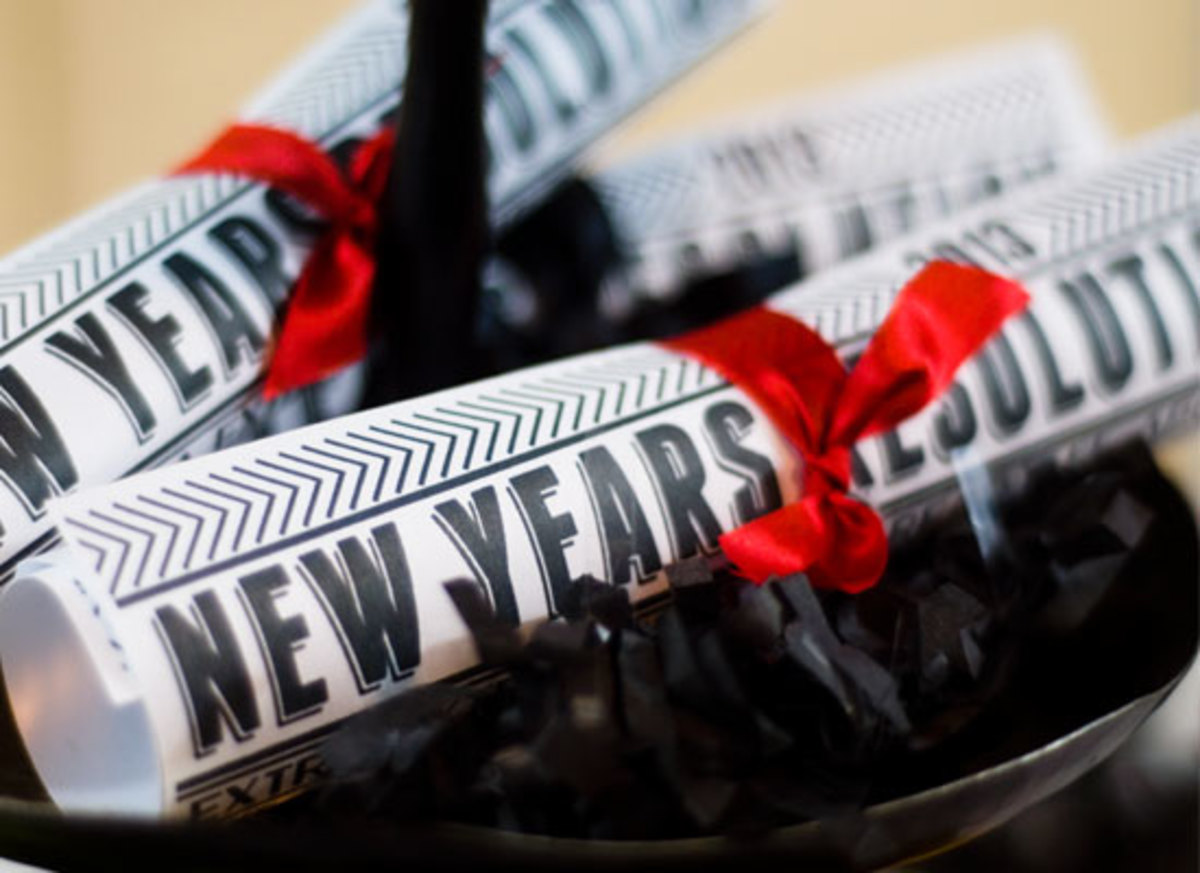 Five Simple Ways to Keep Your New Year's Resolutions