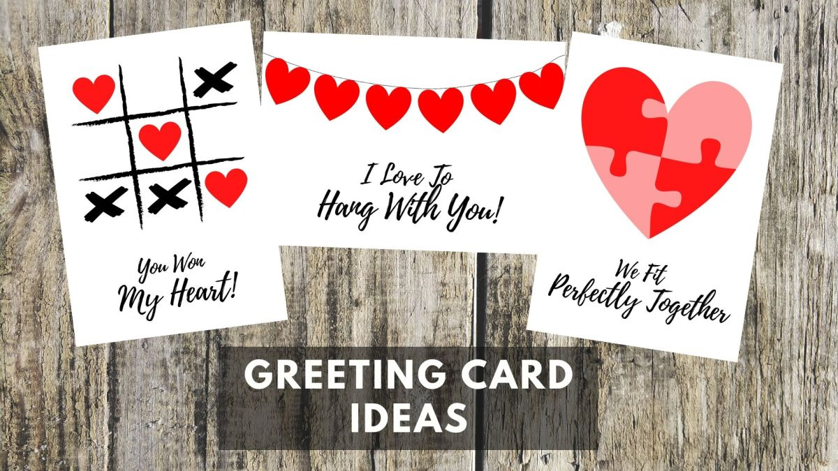 These three Valentine's Day cards are easy to make at home with just a few basic materials.