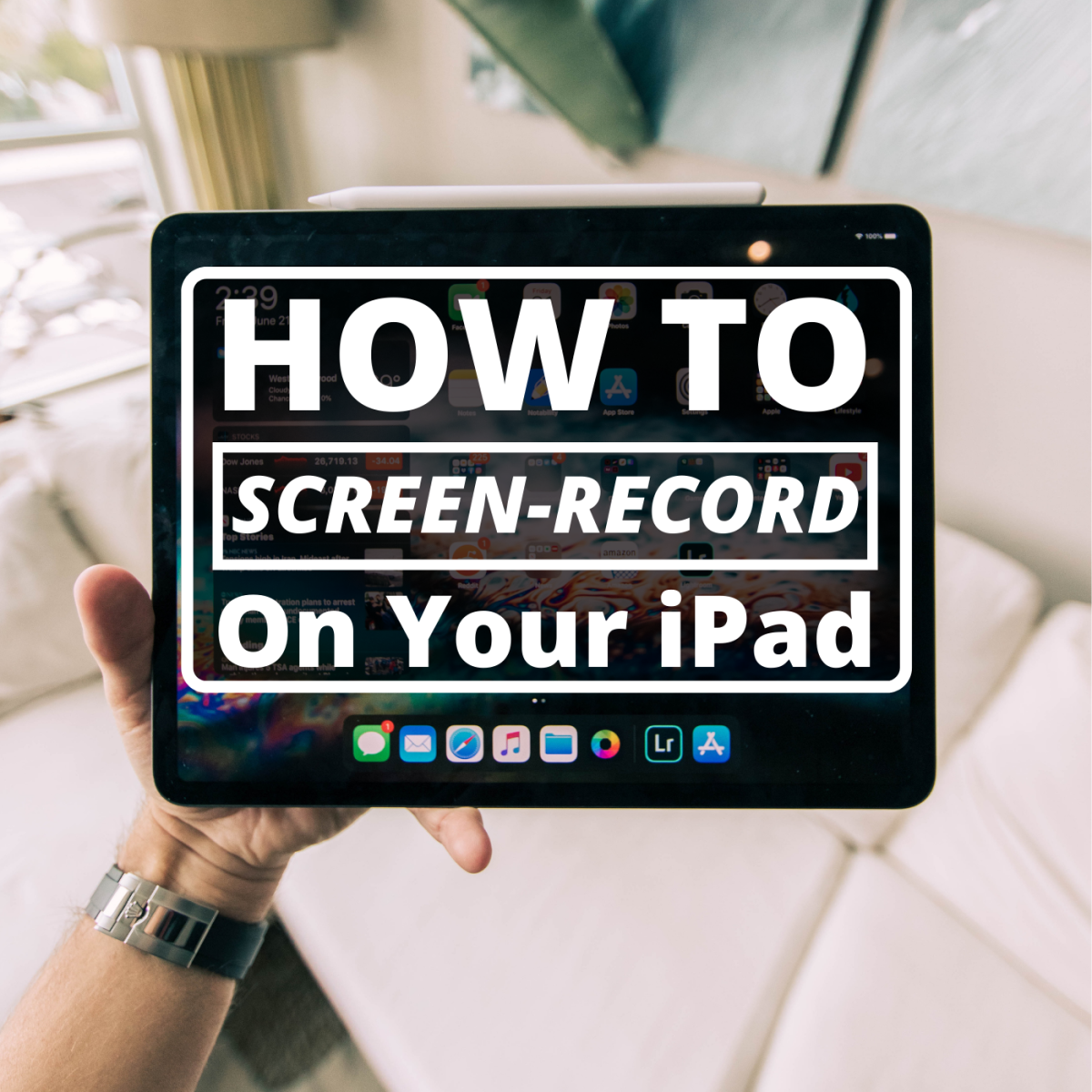 Learn how to take recordings of your iPad screen so you can create demos and tutorials for friends, coworkers, trainees, or your YouTube channel.