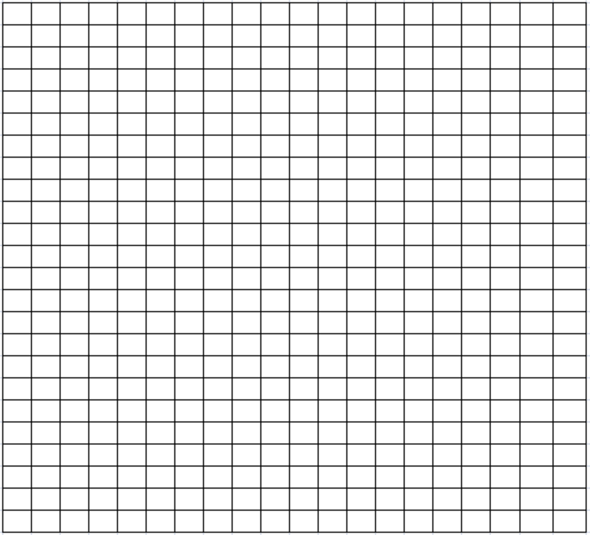 Blank grid for student led word search
