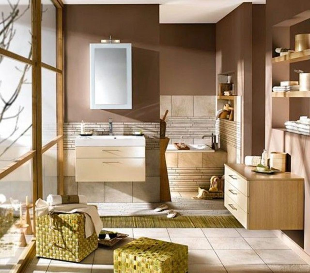 Look to earth Feng Shui to make your home fashionable for a Taurus personality.