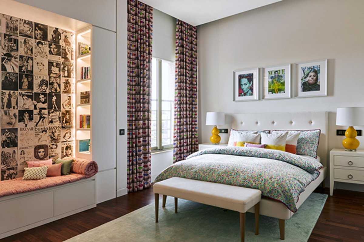 The bedroom should retain its square furniture idea. Keep things light and positive, but don't have yang elements that are overwhelming.