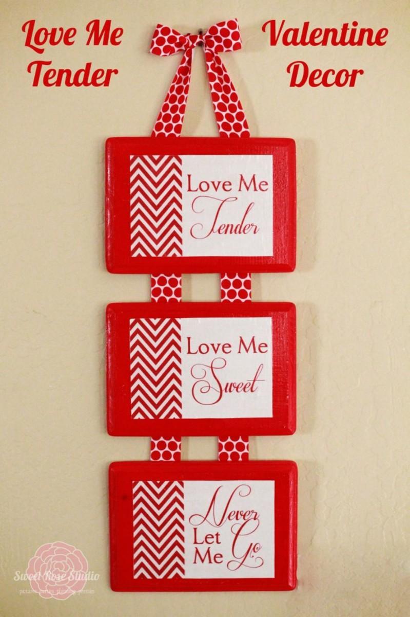 Valentine Craft Ideas on Valentine S Day Home Decor  Decorating Craft Ideas