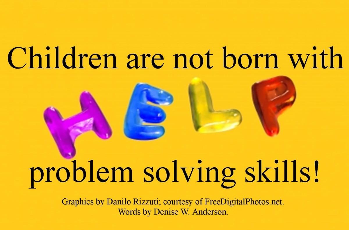 Teaching Young Children Problem Solving