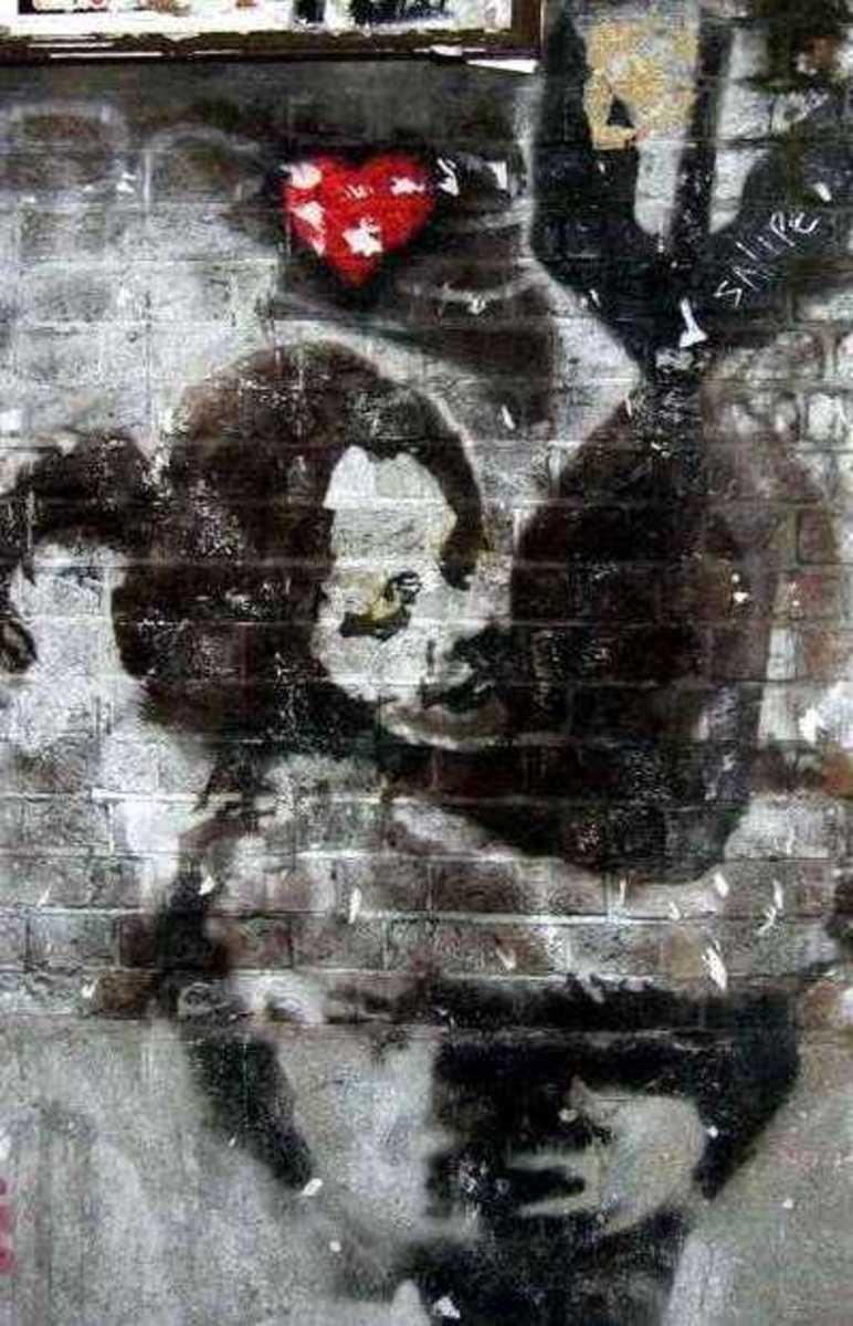 Banksy's Amazing Street Graffiti