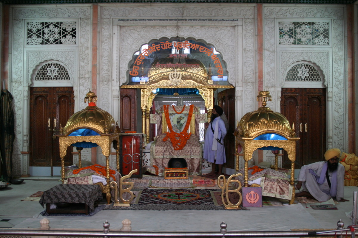 Guru Gobind Singh birth place in Patna where a Gurudwara stands now