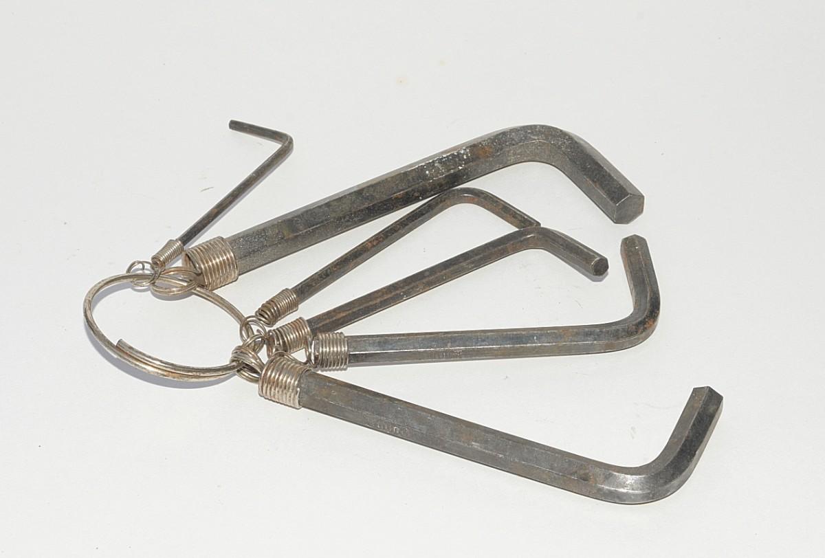 Hex or Allen keys.