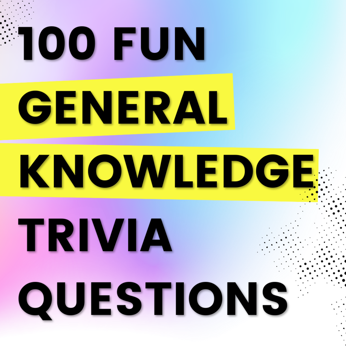 These fun, general knowledge quizzes are suitable for a wide variety of groups and settings.
