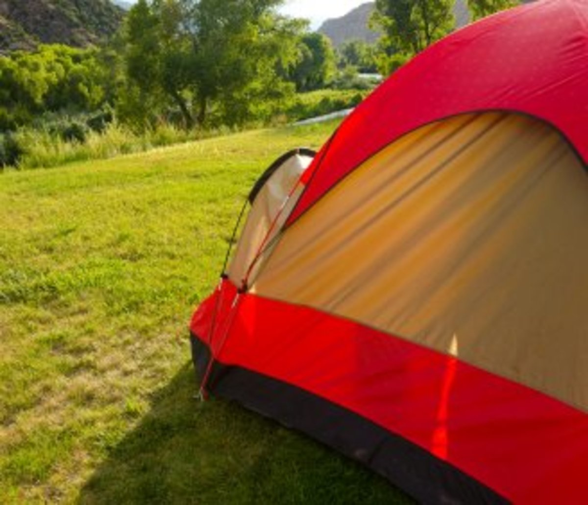Maybe it is time you relived your childhood days and asked your girlfriend to come for a sleepover in your backyard tent.
