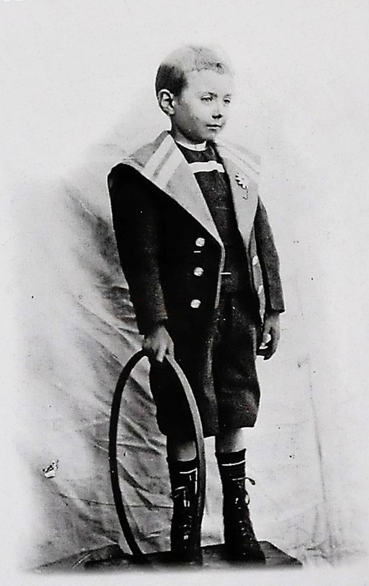 Jean Giono in childhood.