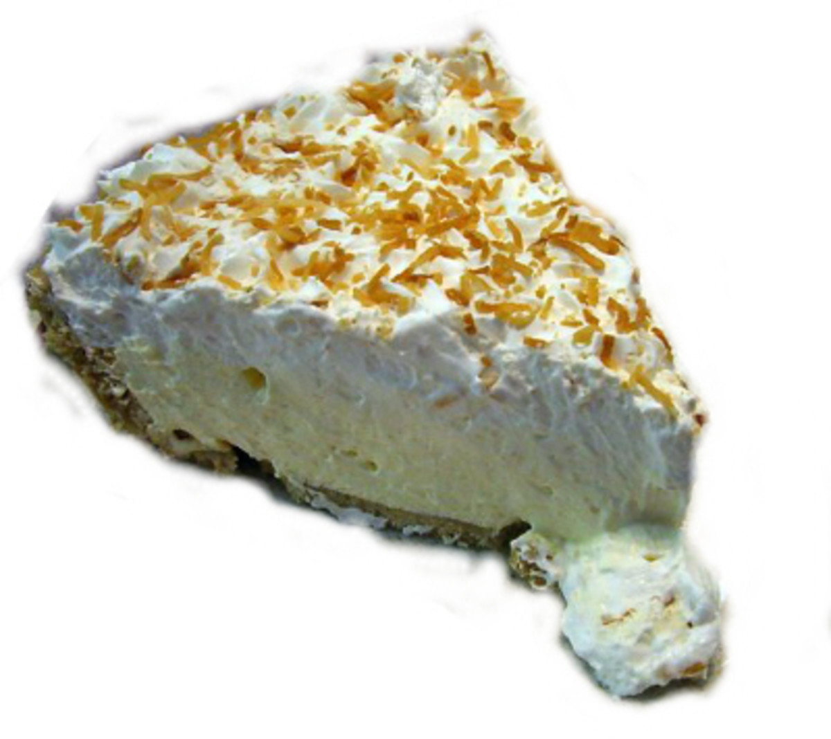 Coconut cream pie http://commons.wikimedia.org/wiki/File:Coconut_cream_pie.jpg under Creative Commons Attribution ShareAlike 2.5 License used under same license