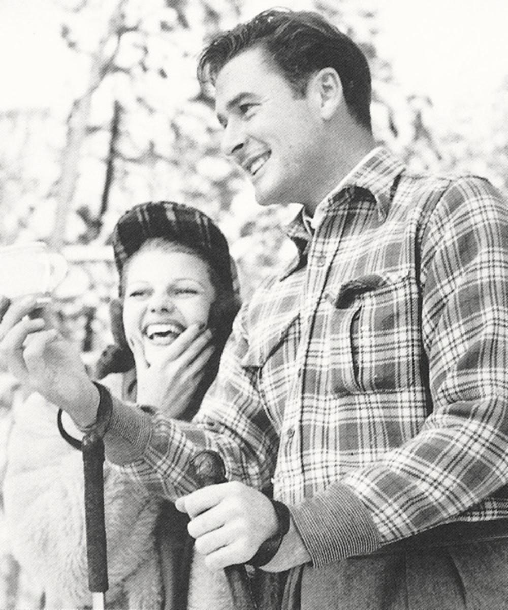 With Rita Hayworth