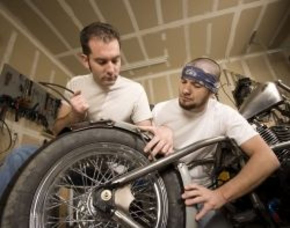 motorcycle assembly