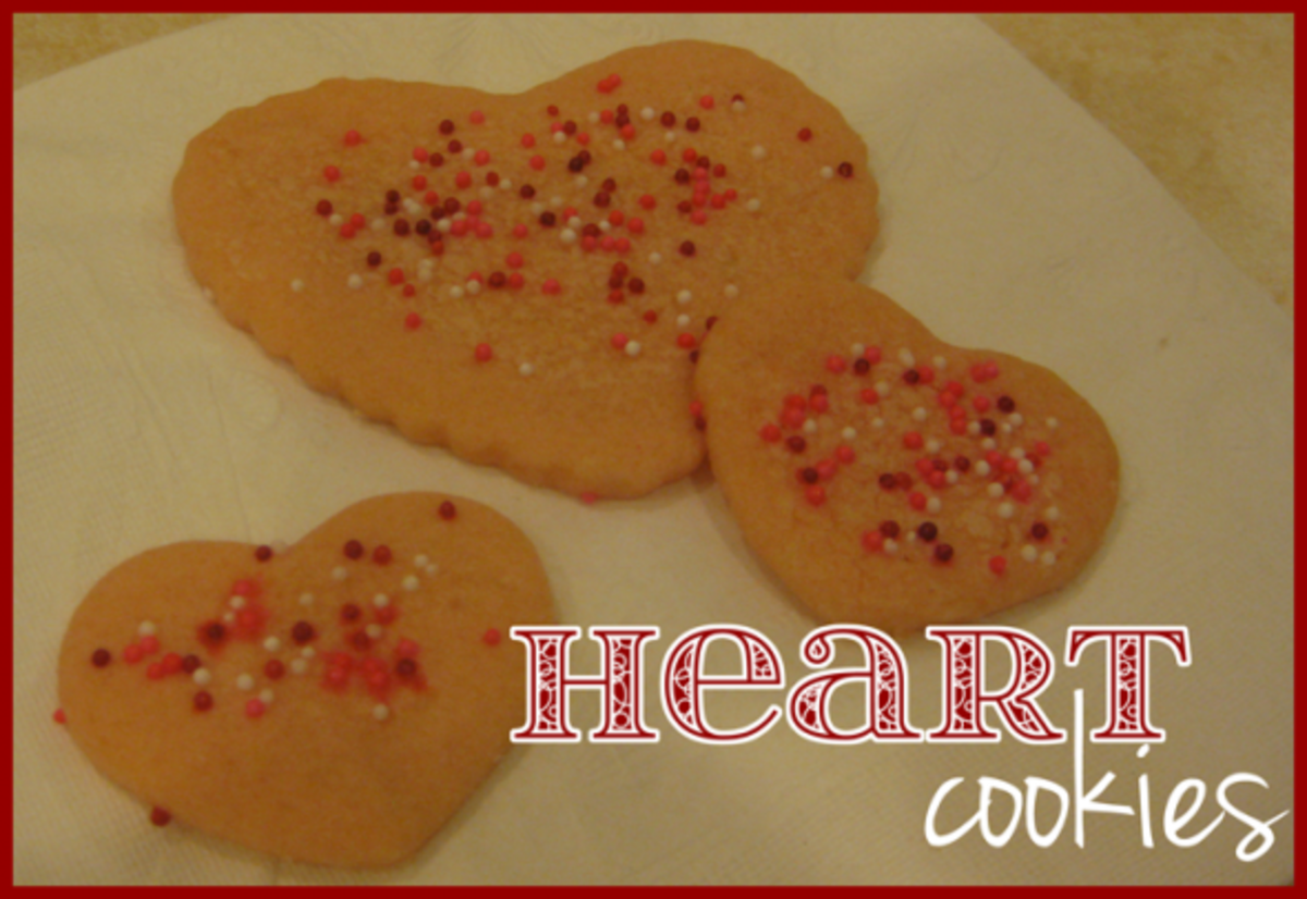heart cookies valentines day activities for kids