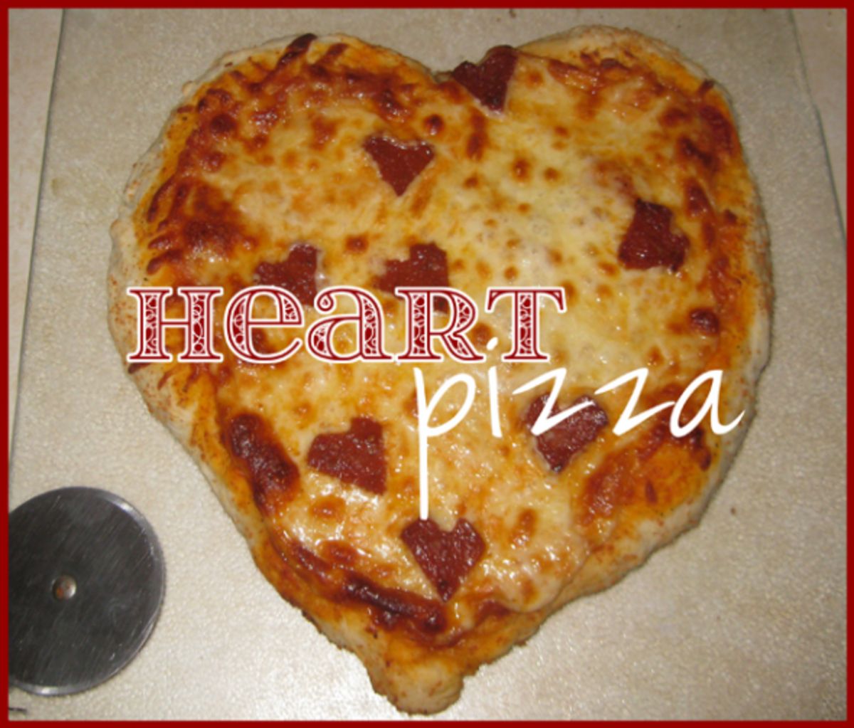 heart shaped pizza valentines day activities for kids