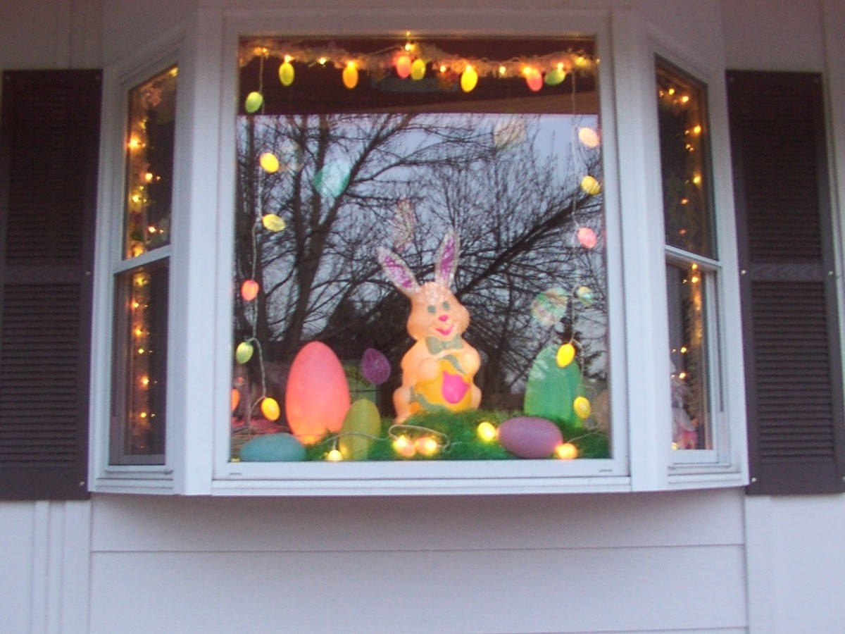 Exterior Easter Decorations