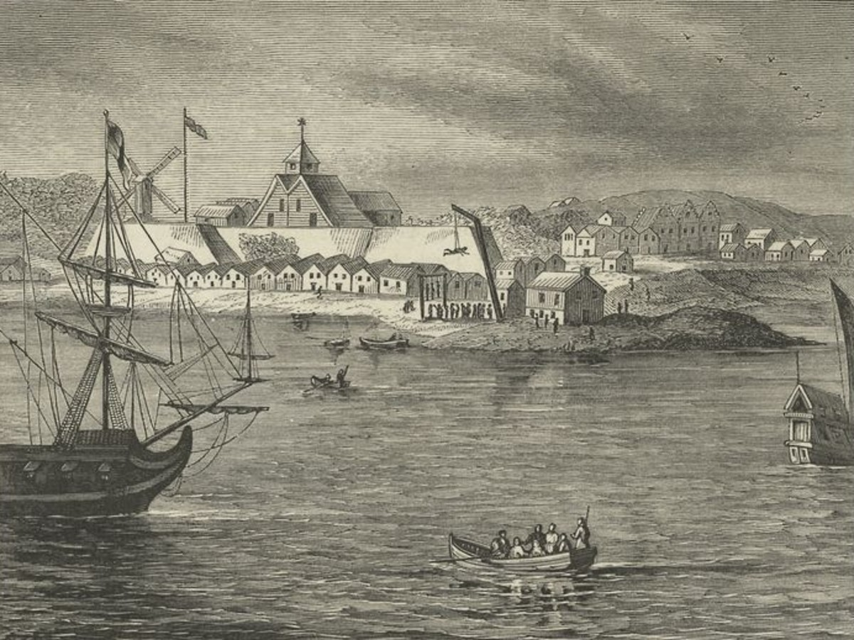 New Amsterdam, later New York