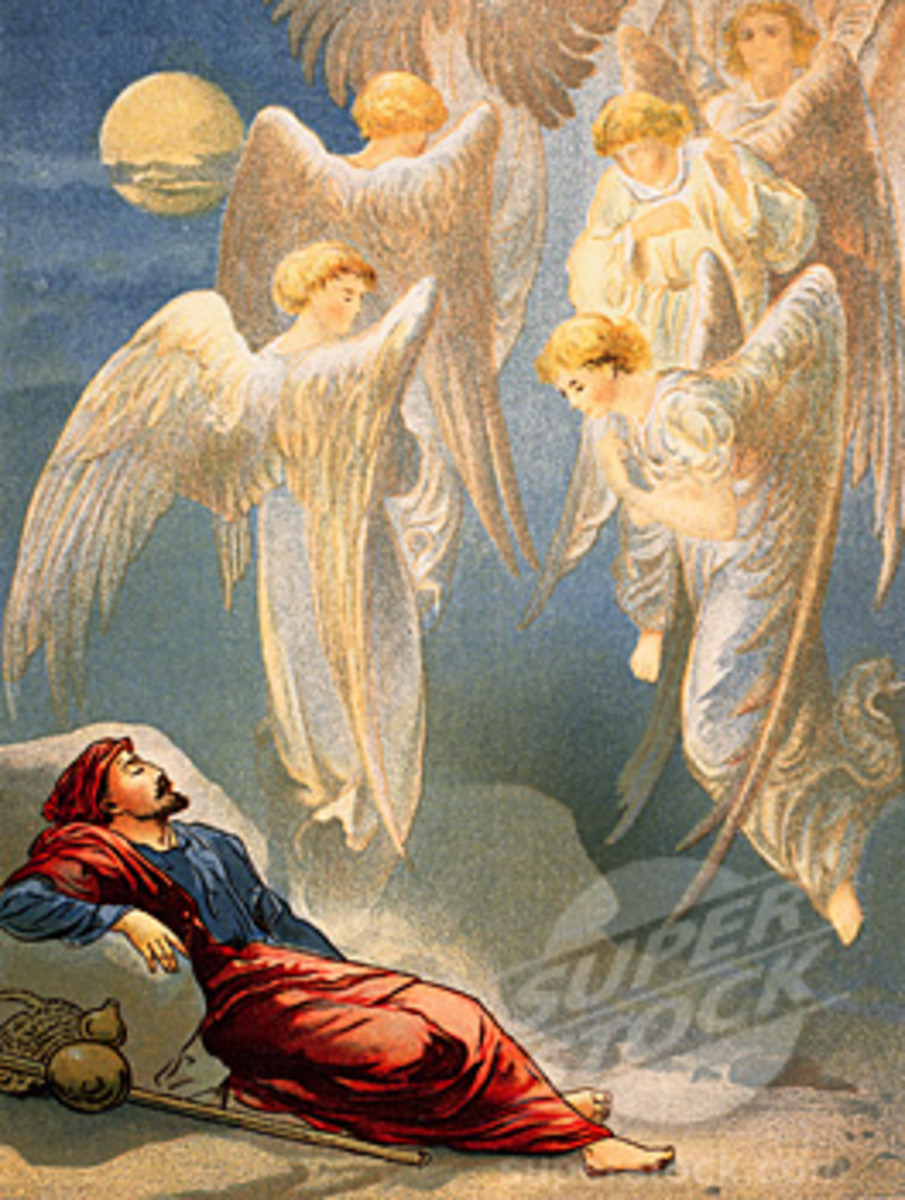 Angels in the Bible illustration