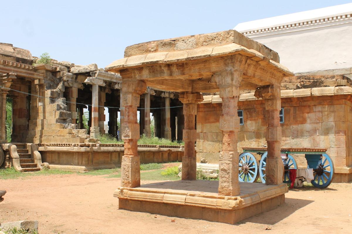 Rock Cut Siva Temple, Pudukottai