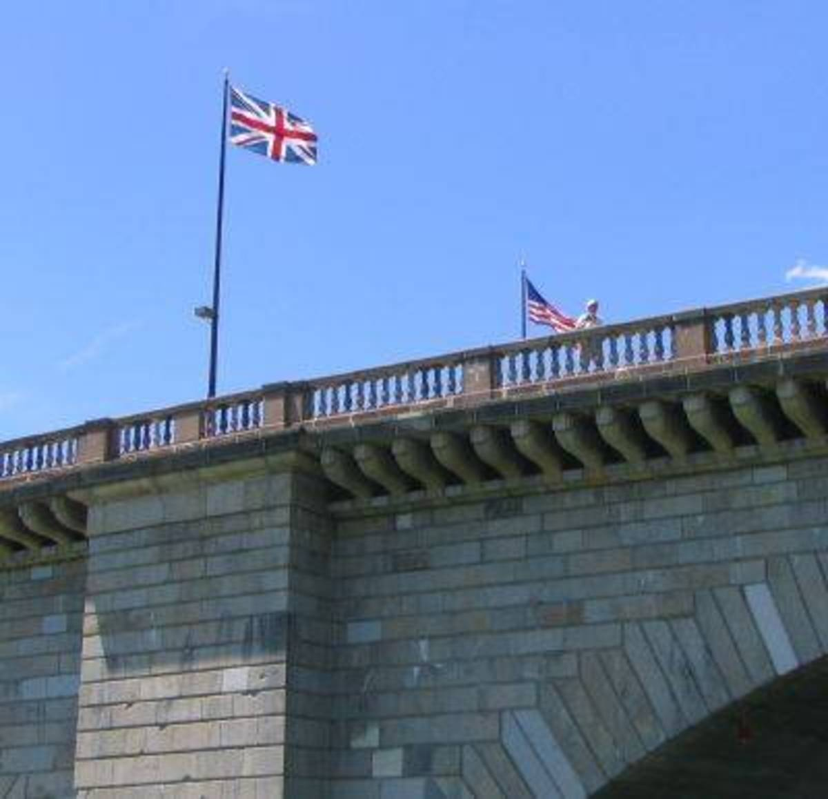 London Bridge located in Lake Havasu, Arizona (yes, it is THE London Bridge from the song!)