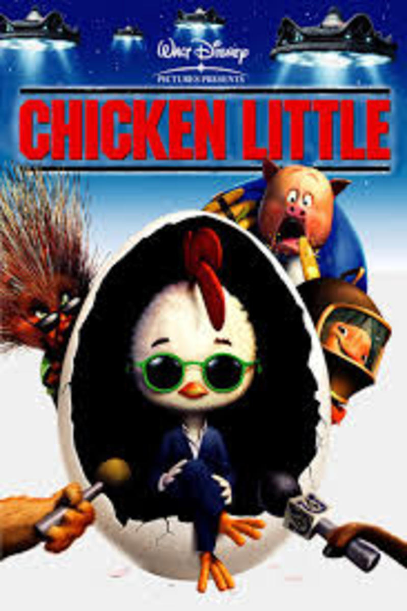 Chicken Little (2005) Movie Poster