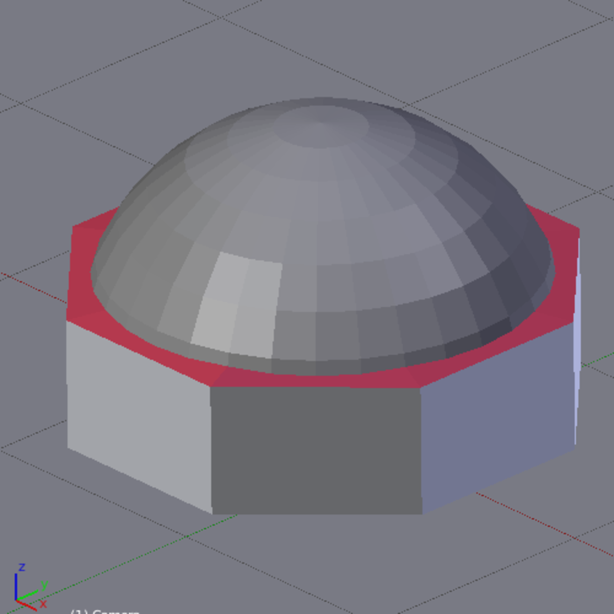 Figure E: The finished dome.