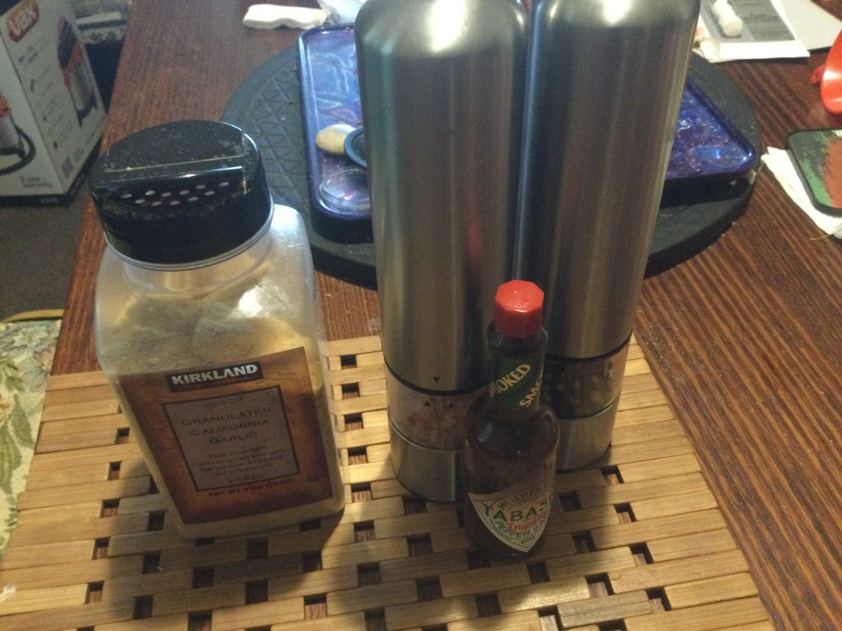 Suggested Condiments