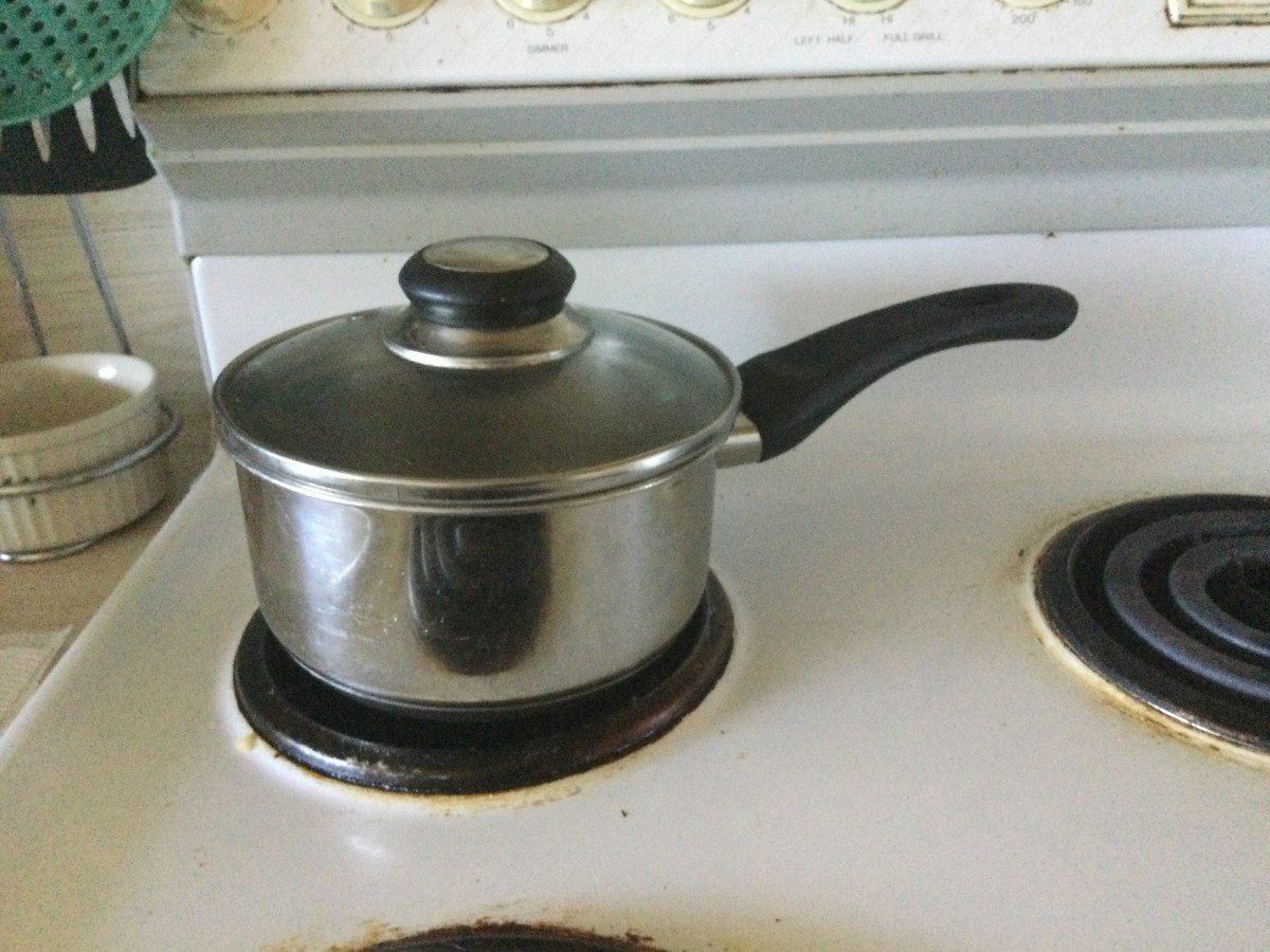 Put the lid on the saucepan