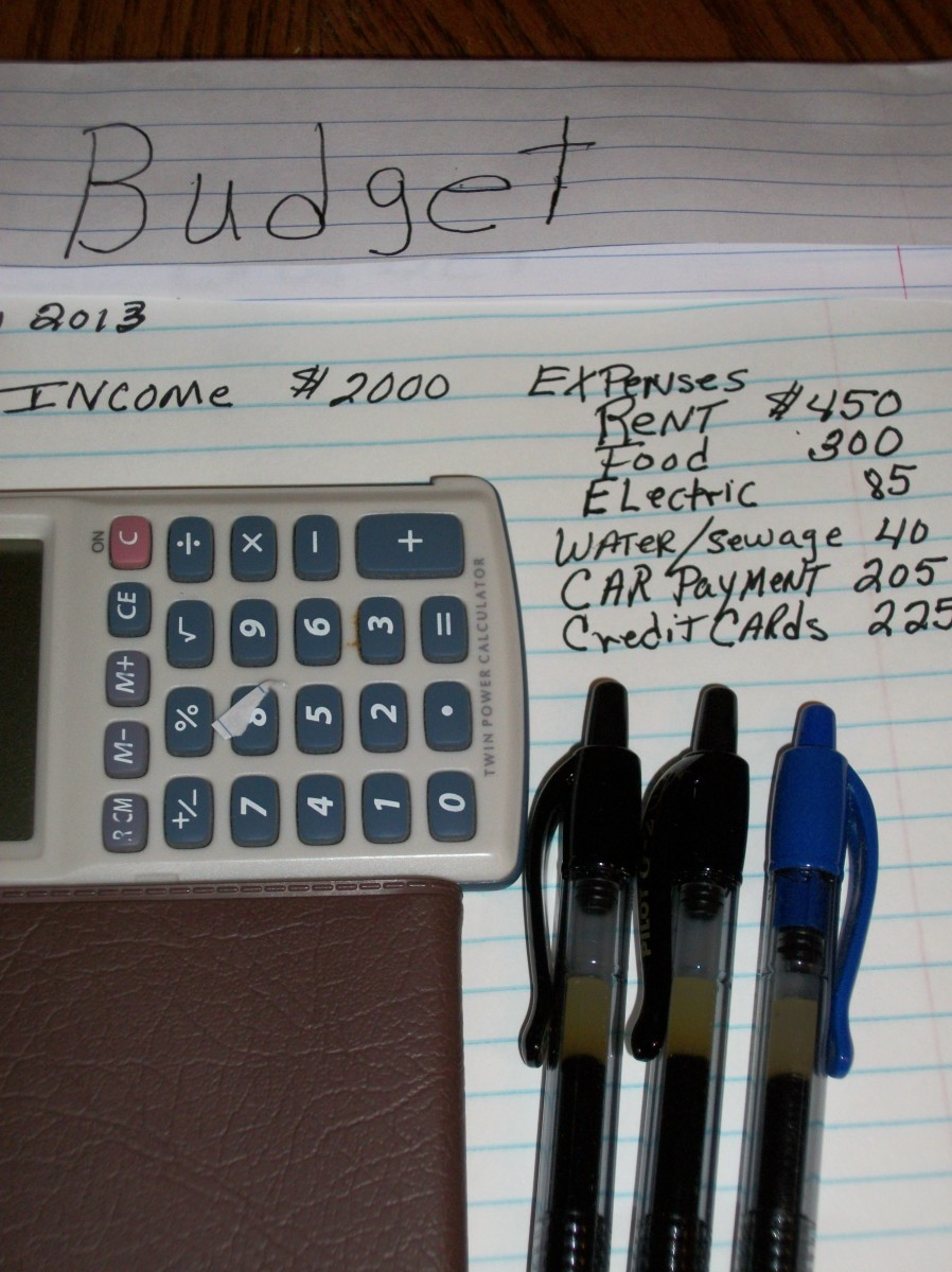 Some simple tools for starting to manage your money and get out of debt