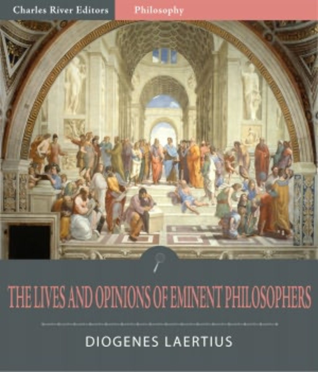 THE LIVES AND OPINIONS OF EMINENT PHILOSOPHERS IS STILL IN PRINT AND REPRESENTS A CANON OF ANCIENT GREEK PHILOSOPHY