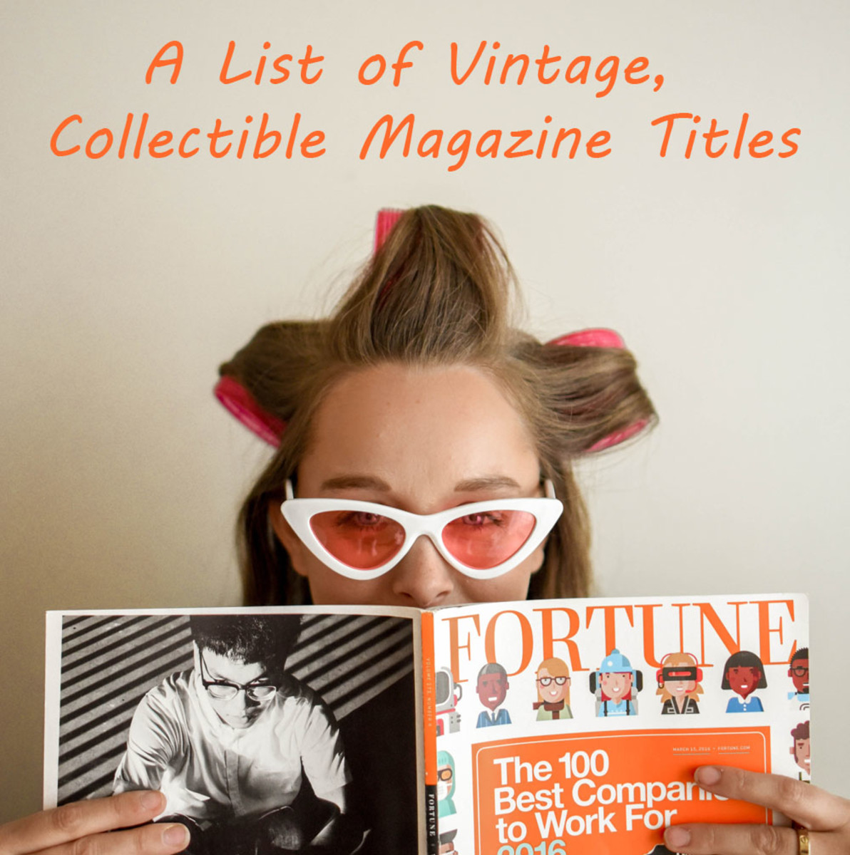 A List of Vintage, Collectible Magazine Titles