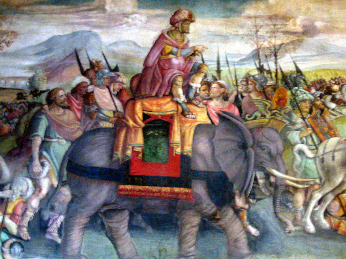Trunks and Tusks: The Terror of Rome