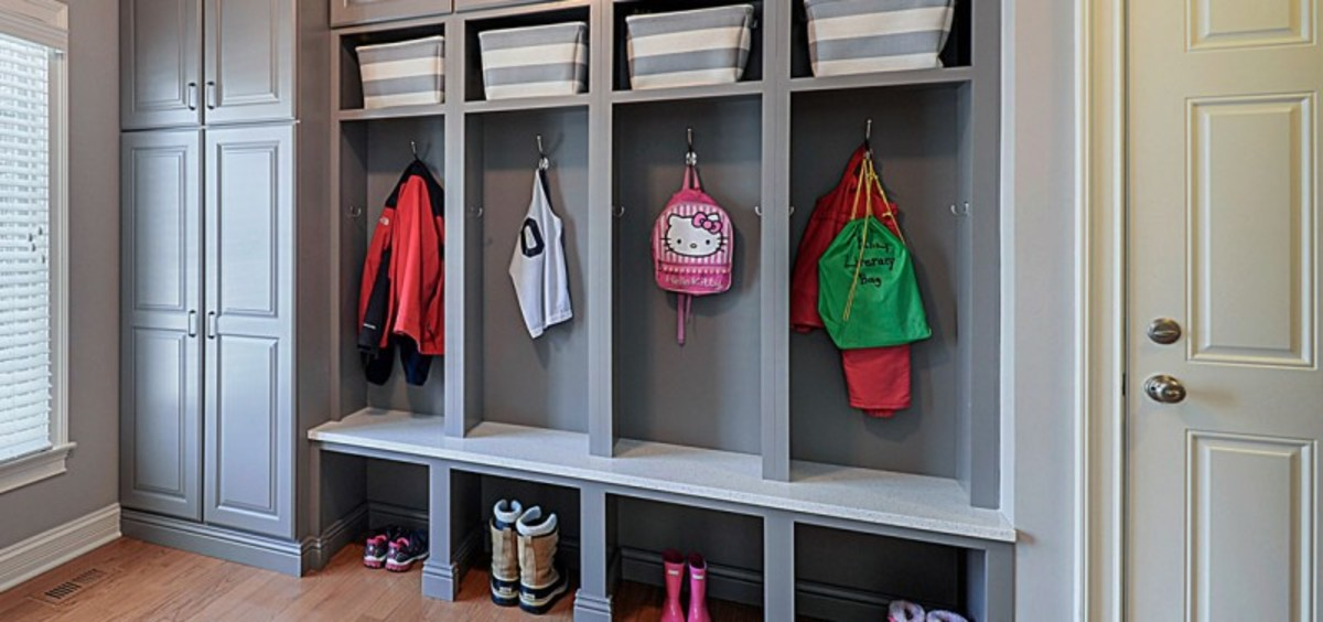 Initial entryway design into dedicated storage rooms. Mudroom ideas to enhance your home