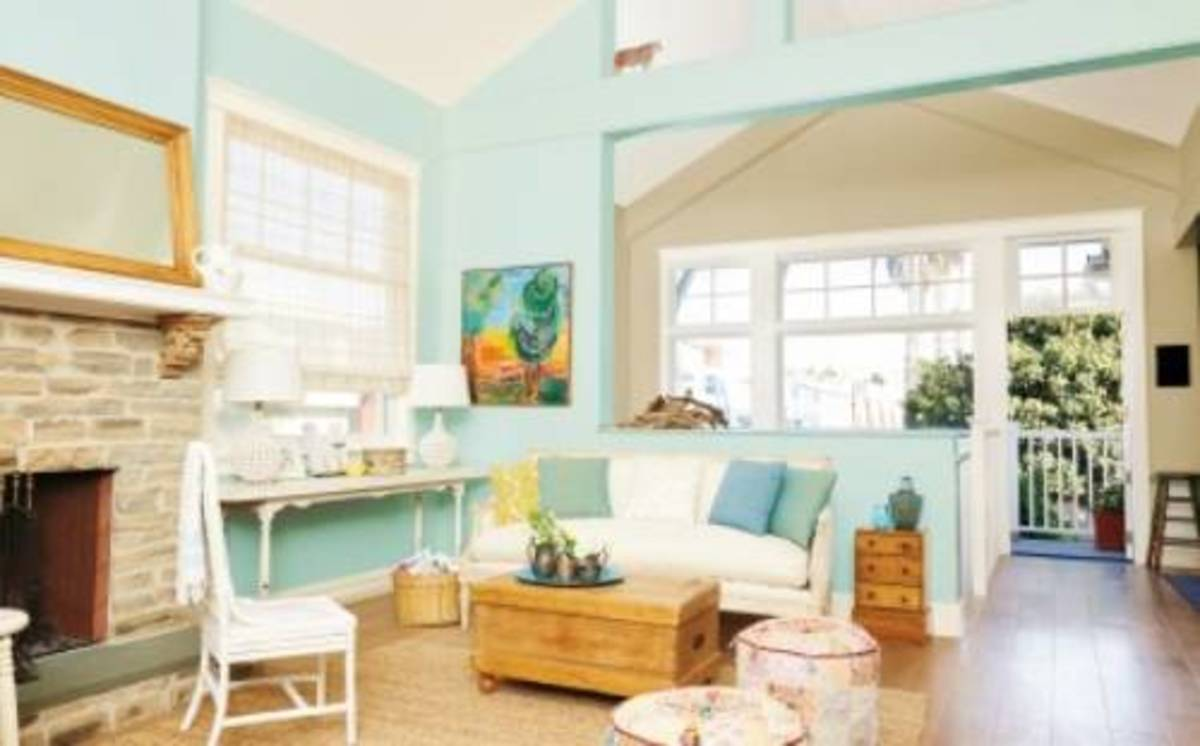 Choose an existing entry room or to begin painting to the accent.