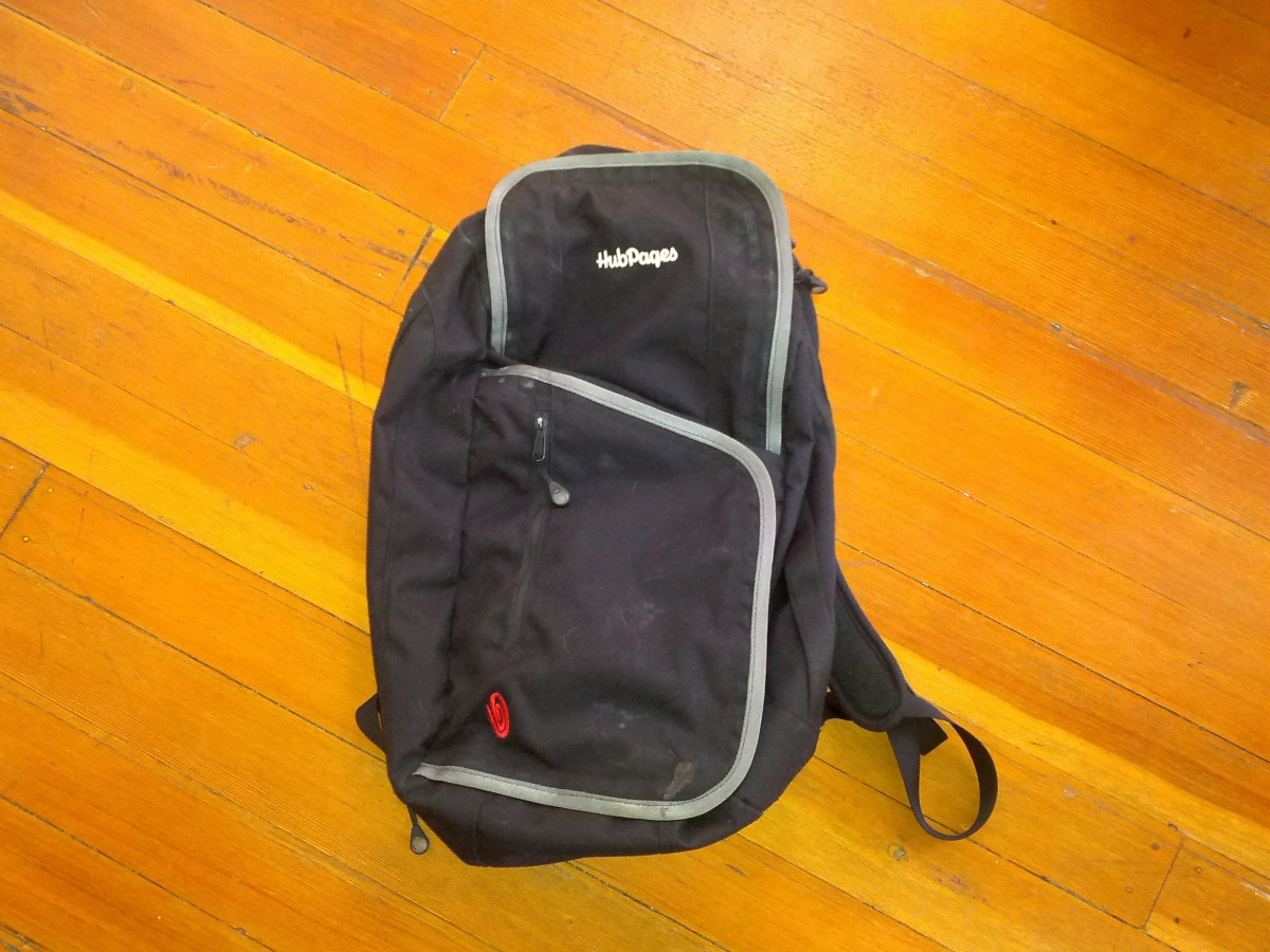 Timbuk2 bag has held up to everyday use for nearly two years!