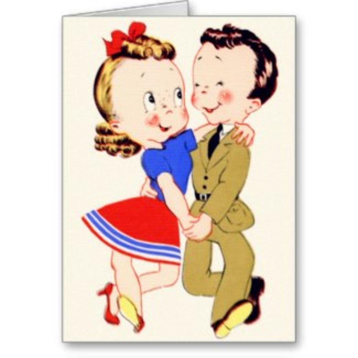 Ah, romance in the WWII era!