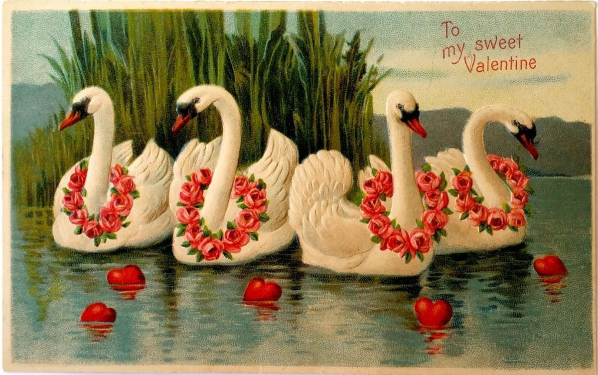 A postcard Valentine in my collection.