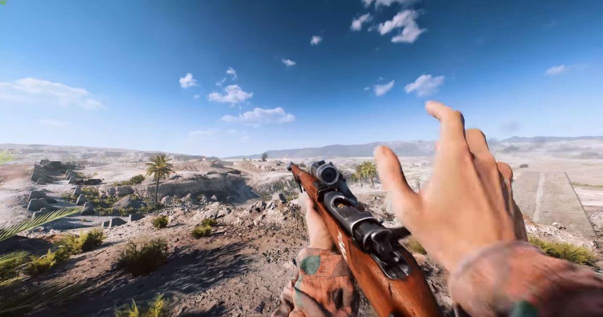 """Battlefield 5"" on Utlra Settings (RTX On) at 1080p Resolution"