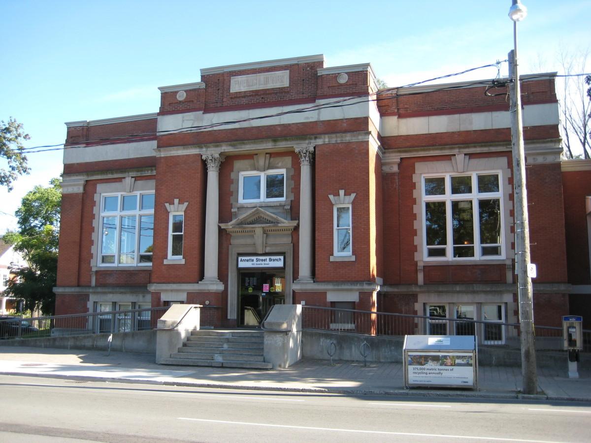 Annette Street Public Library, Toronto