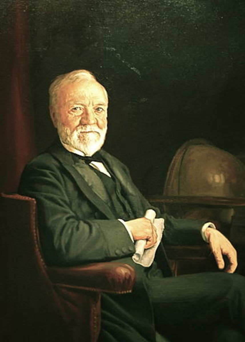 Andrew Carnegie, circa 1905