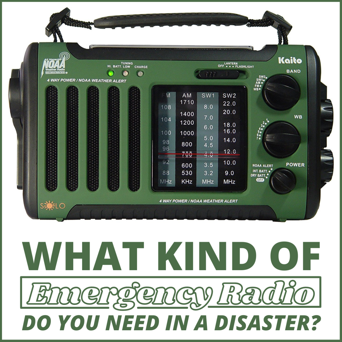 What Kind of Emergency Radio Do You Need in a Disaster?