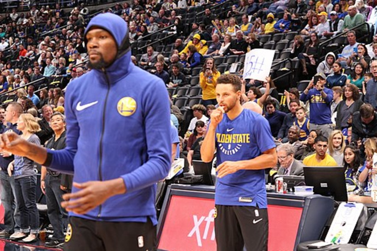 Kevin Durant  & Stephen Curry