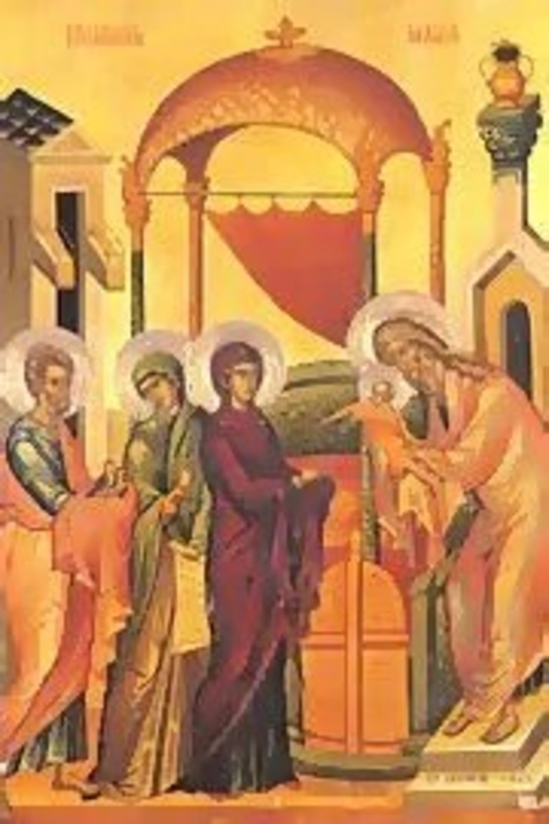 The Golden Sequence #8 Nunc Dimitis