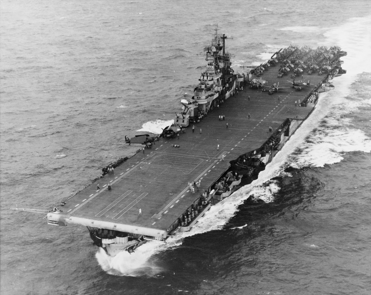 USS Intrepid, 1944