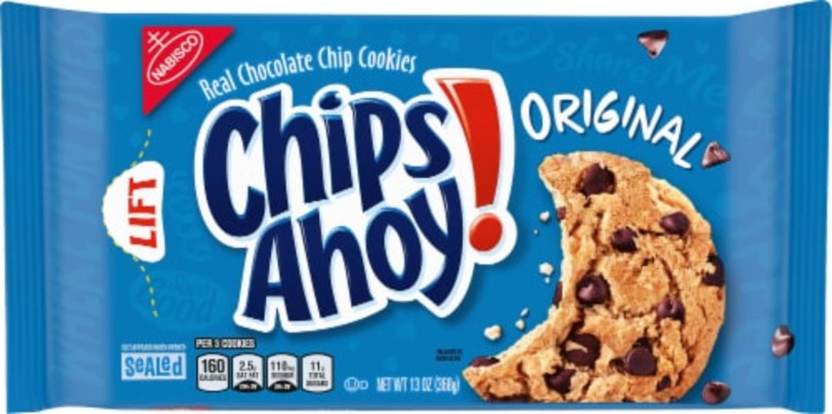In 1963, Chips Ahoy! chocolate chip cookies appeared on grocery store shelves for the first time.