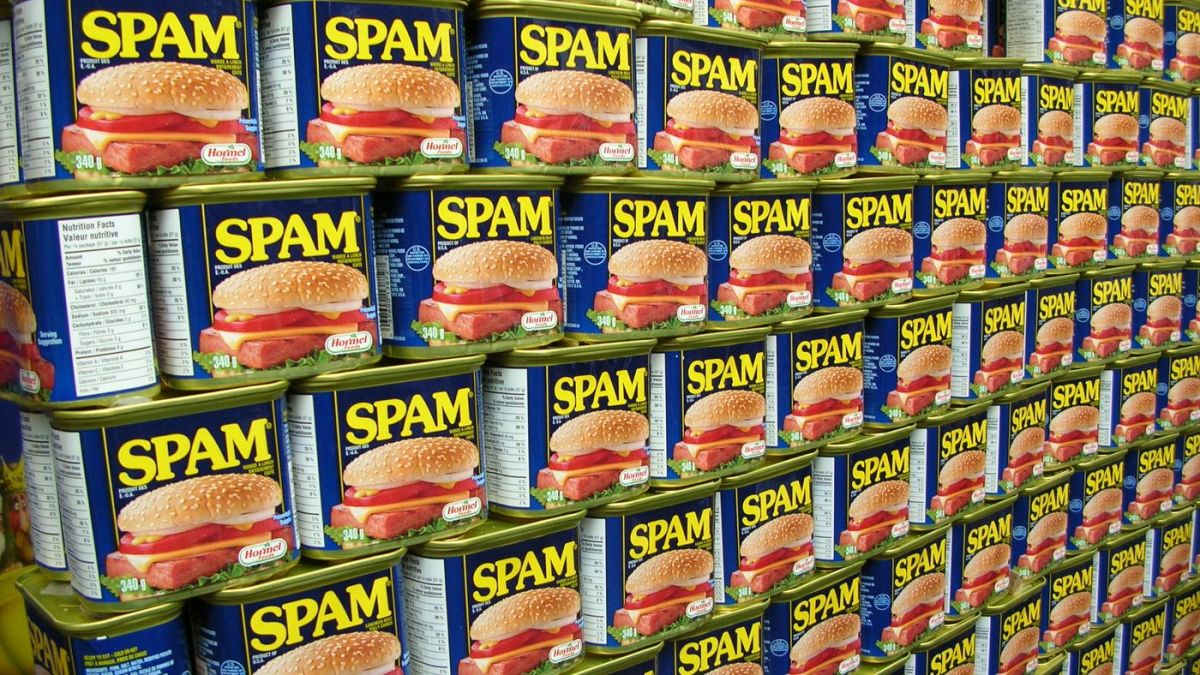 In 1963, SPAM was all the rage.