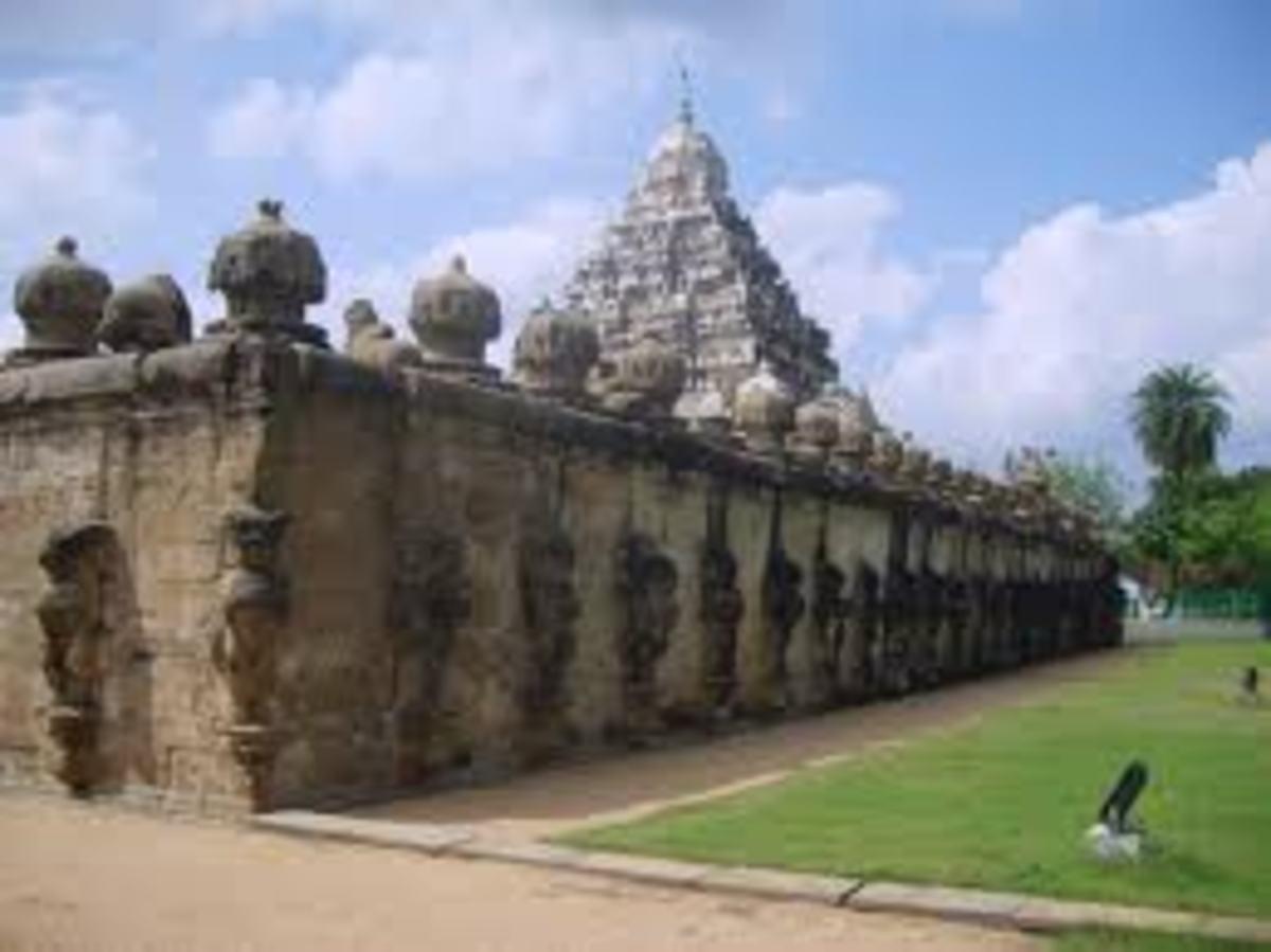 vaikunta perumal temple at kanchipuram
