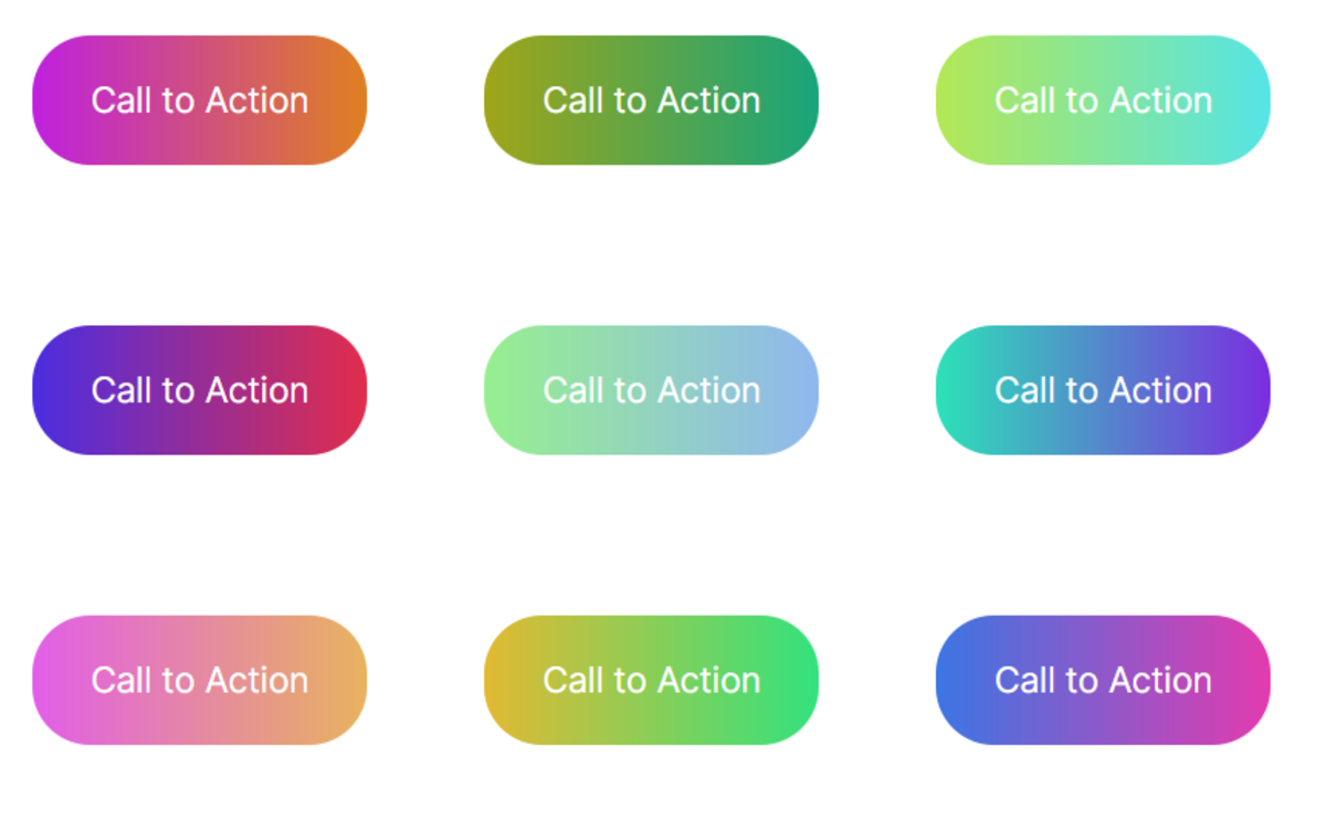 Some examples of gradient buttons you can make too.